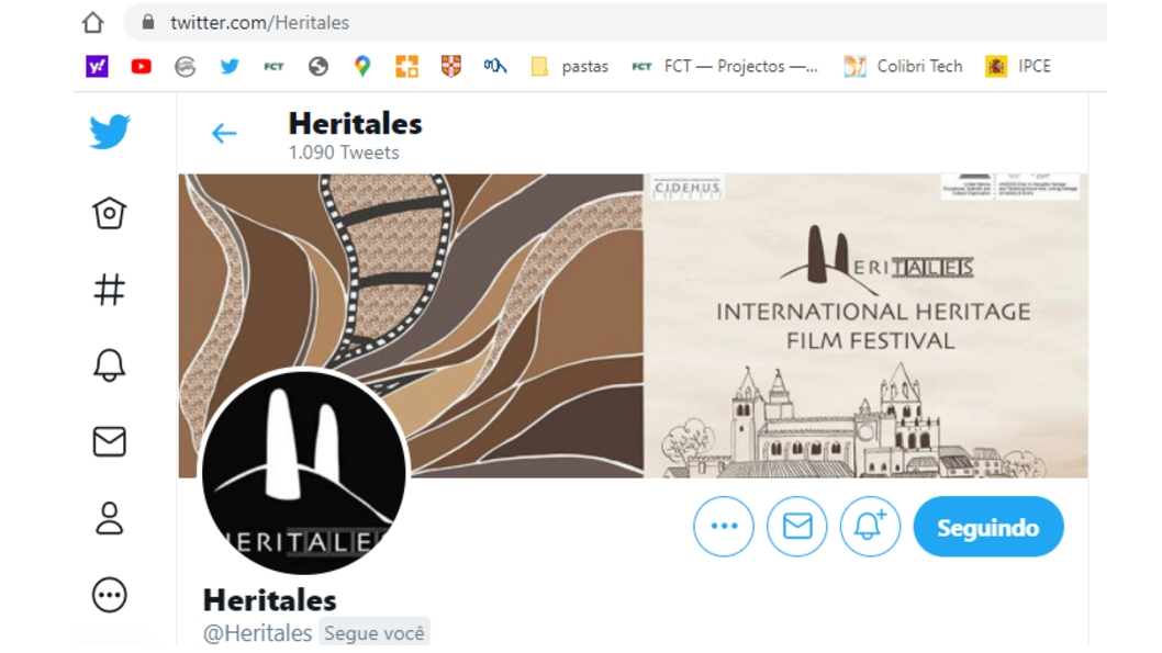 Follow Heritales- Twitter